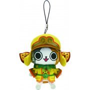 Monster Hunter Otomo Airou Mini Mascot Plush: Kecha Cat (Japan)
