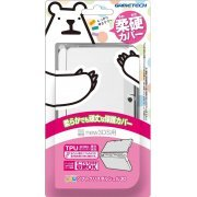 New Soft Crystal Shell 3D for New 3DS (Clear) (Japan)