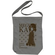 Saenai Heroine no Sodatekata Shoulder Tote Bag Medium Gray: Megumi Kato (Japan)