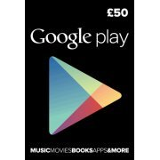 Google Play Card (GBP 50 / for UK accounts only) (Europe)