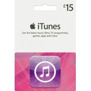 iTunes Card (GBP 15 / for UK accounts only)  digital (UK)