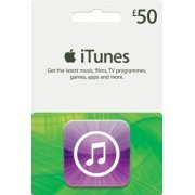 iTunes Card (GBP 50 / for UK accounts only)  digital (UK)