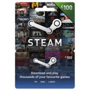 Steam Gift Card (GBP 100 / for UK accounts only) (UK)