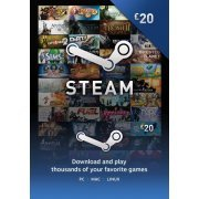Steam Gift Card (GBP 20 / for UK accounts only)  steam digital (UK)