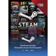 Steam Gift Card (GBP 50 / for UK accounts only)  steam digital (UK)