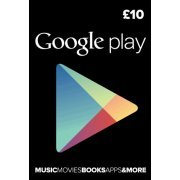 Google Play Card (GBP 10 / for UK accounts only) (UK)