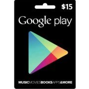 Google Play Card (USD15 / for US accounts only) digital (US)