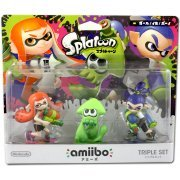 amiibo Splatoon Series Figure Triple Set (Girl / Ika / Boy) (Japan)