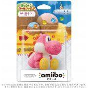 amiibo Yoshi's Woolly World Series Amigurumi Yoshi (Pink) (Japan)