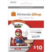 Nintendo Prepaid Card (US$10 / for US network only) [Mario AR Card Edition] (US)