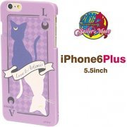 gourmandise Sailor Moon iPhone 6 Plus Character Jacket Luna & Artemis SLM-36D