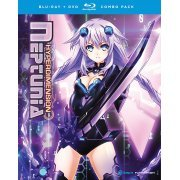 Hyperdimension Neptunia The Animation: Complete Series + OVA [Blu-ray+DVD] (US)