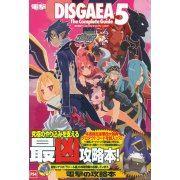 Makai Senki Disgaea 5 The Complete Guide (Japan)