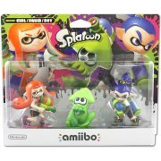 amiibo Splatoon Series Figure Triple Pack (Girl / Squid / Boy) (Europe)