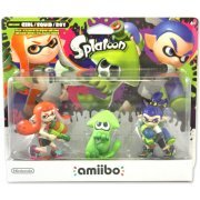 amiibo Splatoon Series Figure (Inkling Girl / Squid / Boy) (US)
