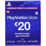 PlayStation Network 20 EUR PSN CARD ES (Spain)