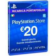 Playstation Network Card 20 EUR | Italy Account digital (Italy)