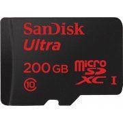 SanDisk Ultra microSDXC 200GB 90MB/s, UHS-I/Class 10