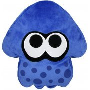 Splatoon Plush: Dark Blue Splatoon Squid Cushion (Re-run) (Japan)