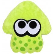 Splatoon Plush: Lime Green Splatoon Squid Cushion (Re-run) (Japan)
