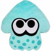 Splatoon Plush: Turquoise Splatoon Squid Cushion (Re-run) (Japan)