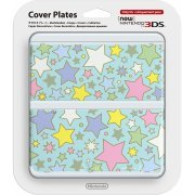 New Nintendo 3DS Cover Plates No.064 (Colorful Star) (Japan)