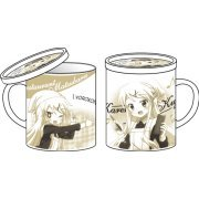 Hello!! Kiniro Mosaic Mug Cup with Cover: Waitress Karen (Japan)