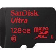 SanDisk Ultra microSDXC 128GB Android 80MB/s, UHS-I/Class 10