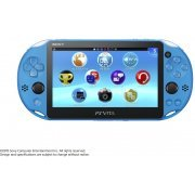 PS Vita PlayStation Vita New Slim Model - PCH-2006 (Aqua Blue) (Asia)