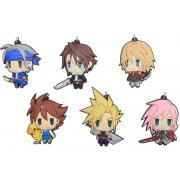 Final Fantasy Trading Rubber Strap Vol. 1 (Set of 6 pieces) (Re-run) (Japan)