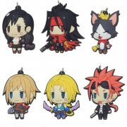 Final Fantasy Trading Rubber Strap Vol. 2 (Set of 6 pieces) (Re-run) (Japan)