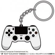 PlayStation Family Mark Rubber Keychain: Dualshock 4 (Japan)