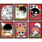 Gintama Rubber Mascot: Gin-san no Hanafuda Ver. (Set of 6 pieces) (Japan)
