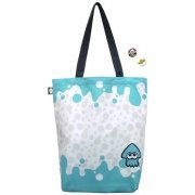 Splatoon Ikasu Tote Bag with Can Badge [Squid] (Re-run) (Japan)