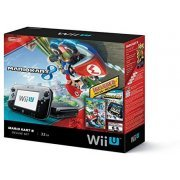 Nintendo Wii U Mario Kart 8 and Nintendo Land Deluxe Set 32GB (Black) (US)