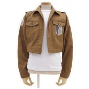 Attack on Titan Survey Corps Jacket Short Ver. (S Size) (Japan)