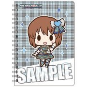 The Idolmaster Ring Notebook B6 W: Hagiwara Yukiho Mini Chara Ver. (Japan)