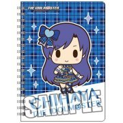 The Idolmaster Ring Notebook B6 W: Kisaragi Chihaya Mini Chara Ver. (Japan)