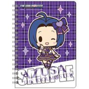 The Idolmaster Ring Notebook B6 W: Miura Azusa Mini Chara Ver. (Japan)