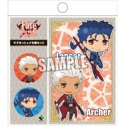 Fate/stay night UBW Magnet & Memo Set: Archer & Lancer (Japan)