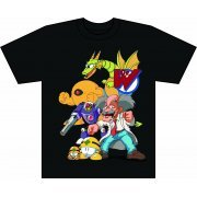 Megaman T-shirt Dr. Wily's Mecha (XL Size) (Japan)