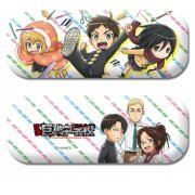 Attack on Titan Junior High Glasses Case & Microfiber Cloth Set (Japan)