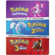 Pokémon: The Movies 1-3 Collection - Pokémon: The First Movie / Pokémon: The Movie 2000 / Pokémon 3: The Movie (SteelBook) (US)