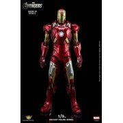 King Arts Avengers 1/9 Diecast Figure Series: Iron Man Mark VII (Asia)