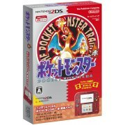 Nintendo 2DS [Pocket Monster Red Limited Pack] (Japan)