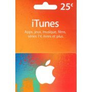 iTunes Card (EUR 25 / for FR accounts only)  digital (Europe)