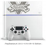 PlayStation 4 System [Street Fighter V Limited Edition] (Glacier White) (Japan)