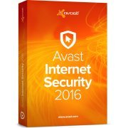 Avast Internet Security 2016, 1 User, 2 Years (Region Free)