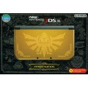 New Nintendo 3DS XL Hyrule Gold Edition (Asia Packaging) (US)