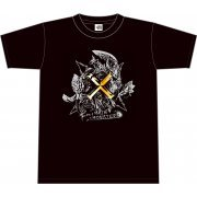 Monster Hunter X T-shirt: Four Main Monsters (M Size) (Japan)